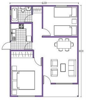 Artes plasticas dibujo t cnico for Medidas de un plano arquitectonico