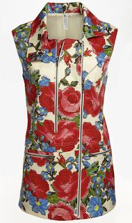 Mural Utility Floral Vest