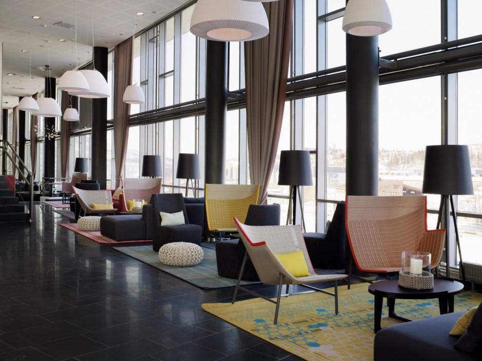 het hotel is ingericht door scenario interirarchitekter zij maakten gebruik van meubels en accessoires van moroso gervasoni rafemar andreau world