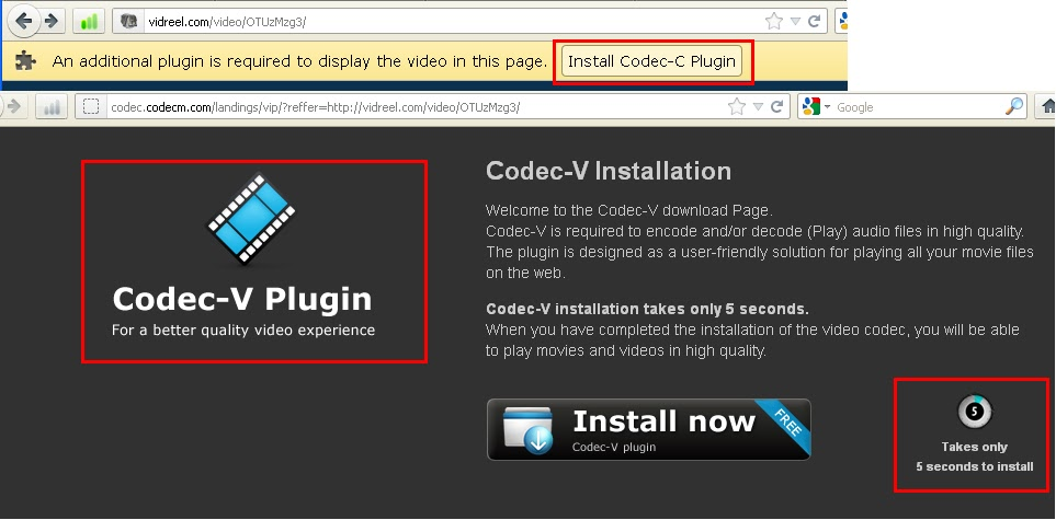 How to remove the Codec-c Virus infection?