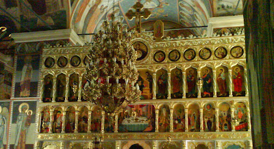 Turnu Monastery, Valcea county - interior paintings