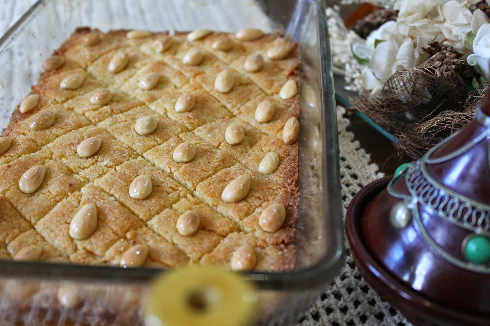 pastel-árabe-con-sémola
