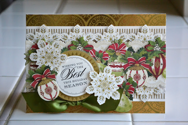 Aly Dosdall Crafty Christmas Countdown Day 21