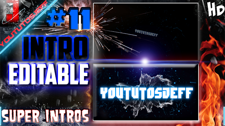 INTRO EDITABLE #11 CON SONY VEGAS | 2015
