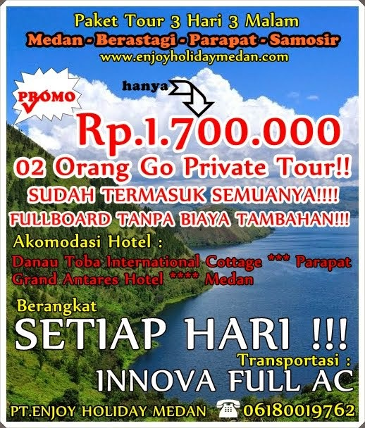 PROMO 3H2M - 2 ORANG GO PRIVATE TOUR - FULBOARD -  ALL IN - NO HIDDEN COST!!!