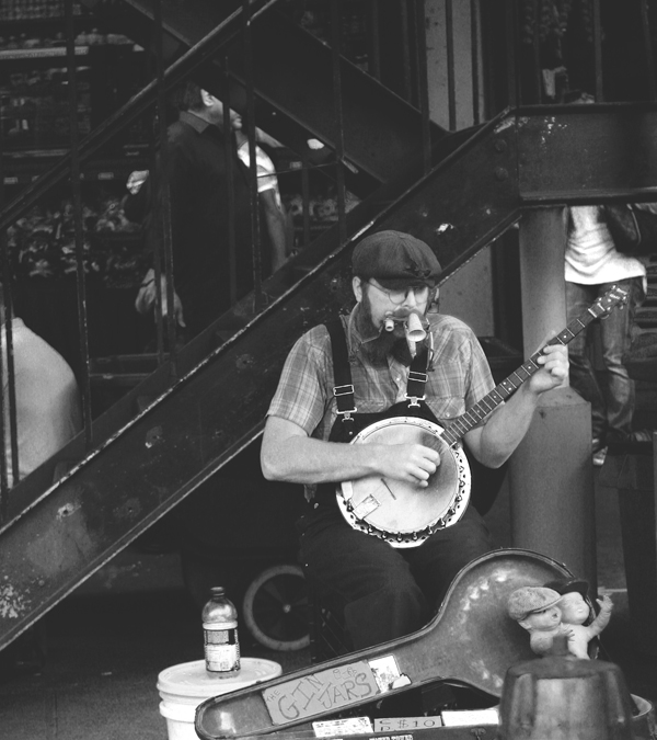itbritt.com: Seattle street musician