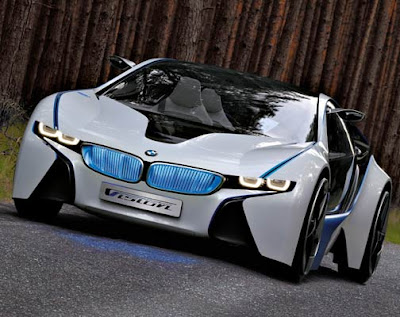 The Concept Of BMW I8 A New Generation Sports Cars Claims About Car Plug In Hybrid Two Door This Uses Sources Power And Propulsion