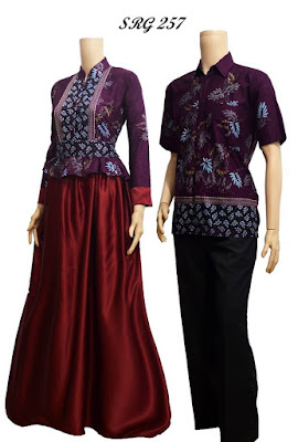batik couple ungu