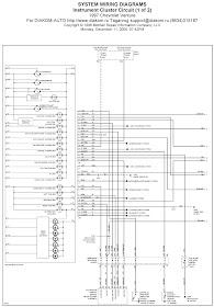 V Manual: 1997 Chevrolet Venture Instrument Cluster Circuit System Wiring  Diagrams | Chevrolet Venture Fuel Gauge Wiring |  | V Manual