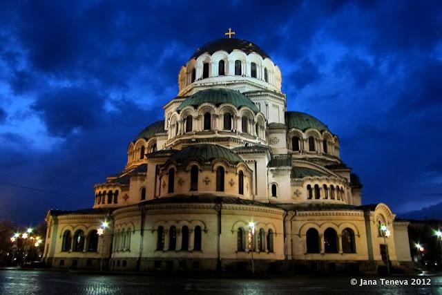 Sofia cathedral Alexander Nevski
