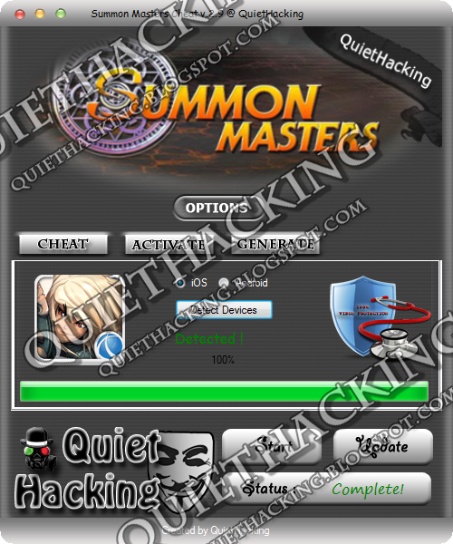 Summon Masters Cheat v.2.9 [NEW 2014] 2
