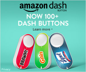 Shop Amazon - Now 100+ Dash Buttons