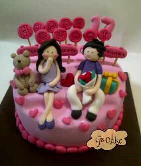 Gs Cake: Birthday Cake Couple