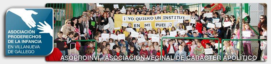 Asociación Proderechos de la Infancia en Villanueva de Gállego