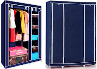 Buy Kawachi Elegant Double Door Wardrobe at Rs 1300 Via Ask me bazaar :buytoearn