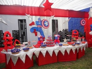 Fiestas Infantiles De Capitan America, parte 1