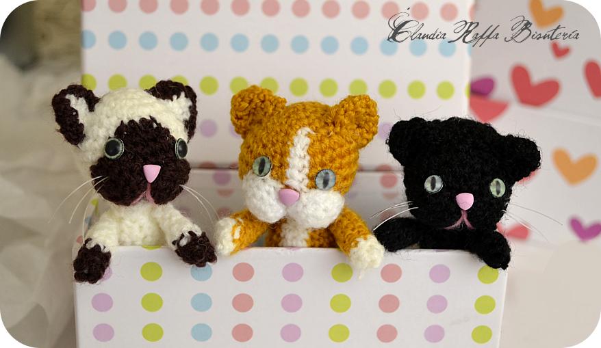Gato Amigurumi Llavero : Llaveros amigurumi gato peluches de gatos tejidos a crochet youtube