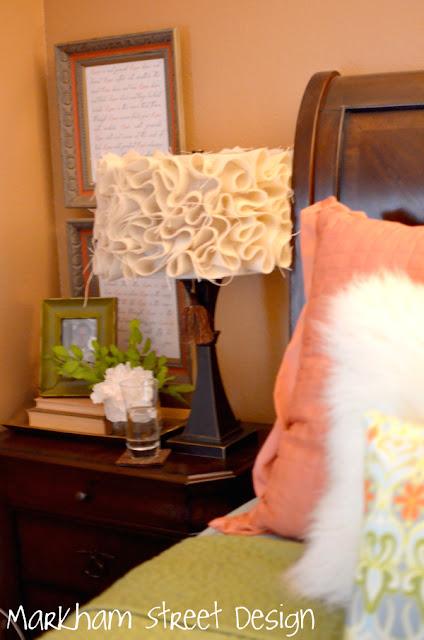 Laura Orr Interiors: Pinterest Challenge Ruffled Lampshade
