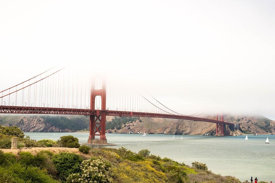 golden gate bridge, karl the fog
