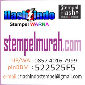 Kontak Pemesanan Stempel Warna Murah