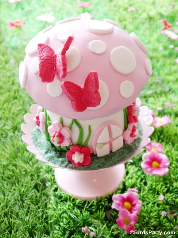 How to make a toadstool birthday cake party ideas for Fairy cakes