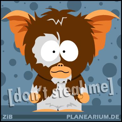 Gremlins: Gizmo por planearium