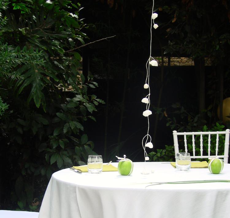 Ghirlande di fiori di carta per matrimonio eco friendly ai Vivai Le  Mura