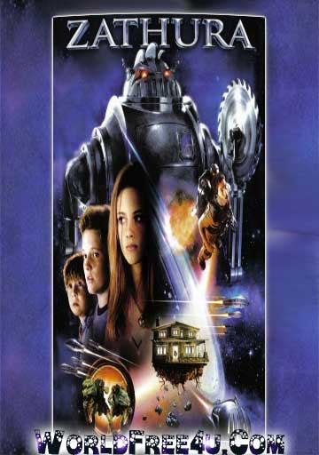 Poster Of Zathura (2005) In Hindi English Dual Audio 300MB Compressed Small Size Pc Movie Free Download Only At 300Mb.cc