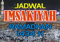 Jadwal Imsakiyah Puasa Ramadhan 1434 H/2013 M Seluruh Indonesia