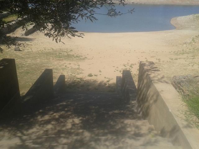 Escadas de Acesso á Zona Fluvial