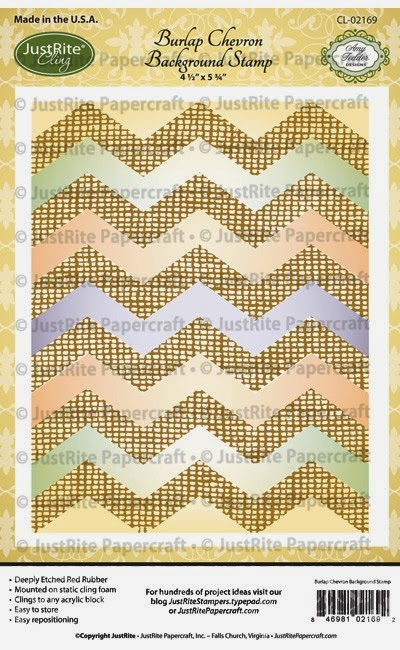 http://justritepapercraft.com/collections/april-2015-release/products/burlap-chevron-cling-background-stamp