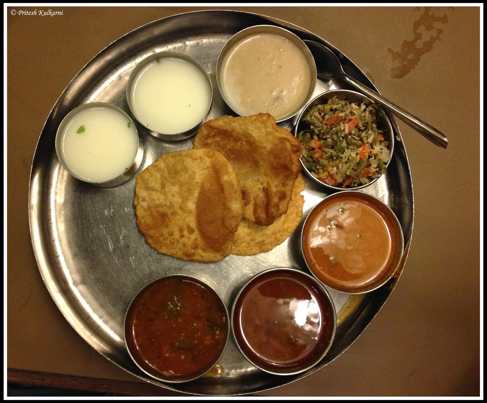 Udupi thali at Woodland restaurant