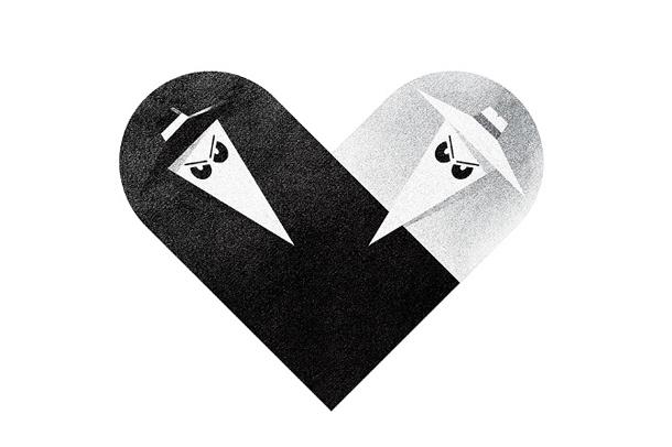 Versus/Hearts by Dan Matutina - Spy & Spy