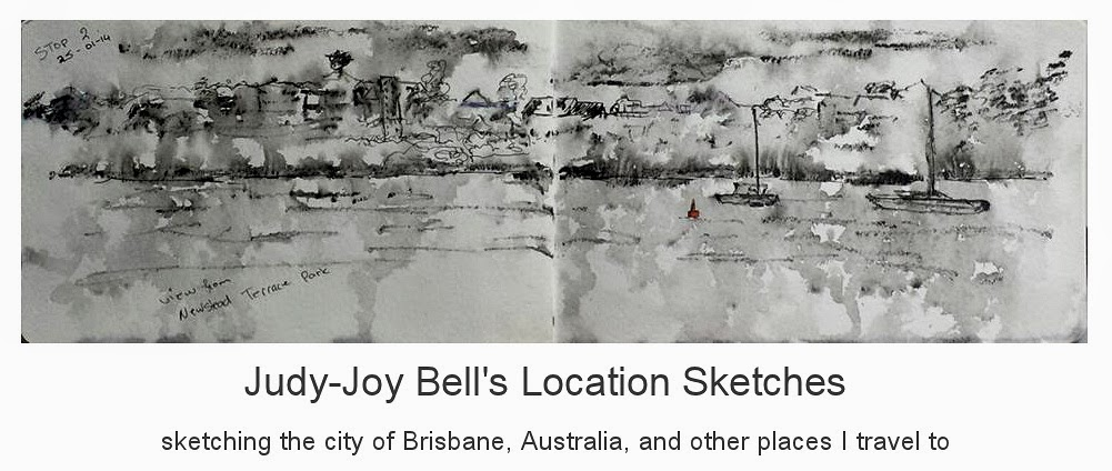 Judy-Joy Bell's Location Sketches