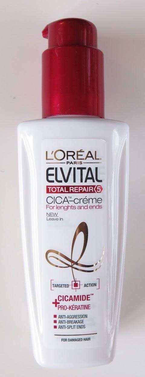 Loreal elvital total repair cica-creme kremas plaukams