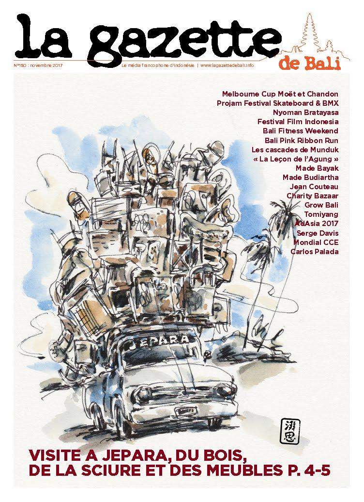 La Gazette de Bali novembre 2017