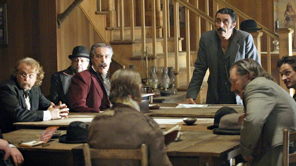"Deadwood's Season One episode, ""No Sons and Daughters"""