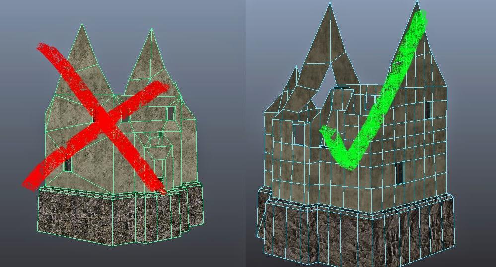 Tessellated House in Maya