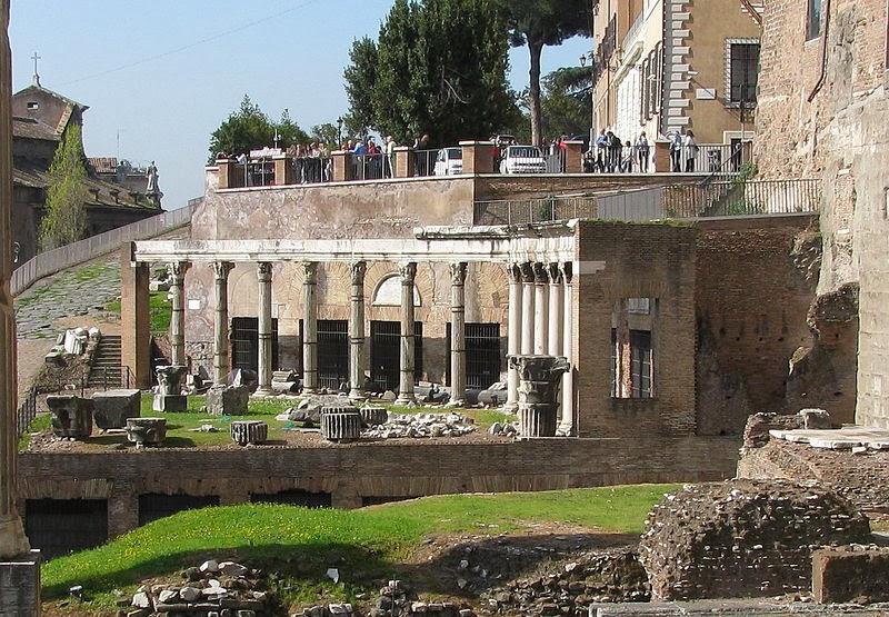Rome always in my heart for Aggiornare le colonne del portico