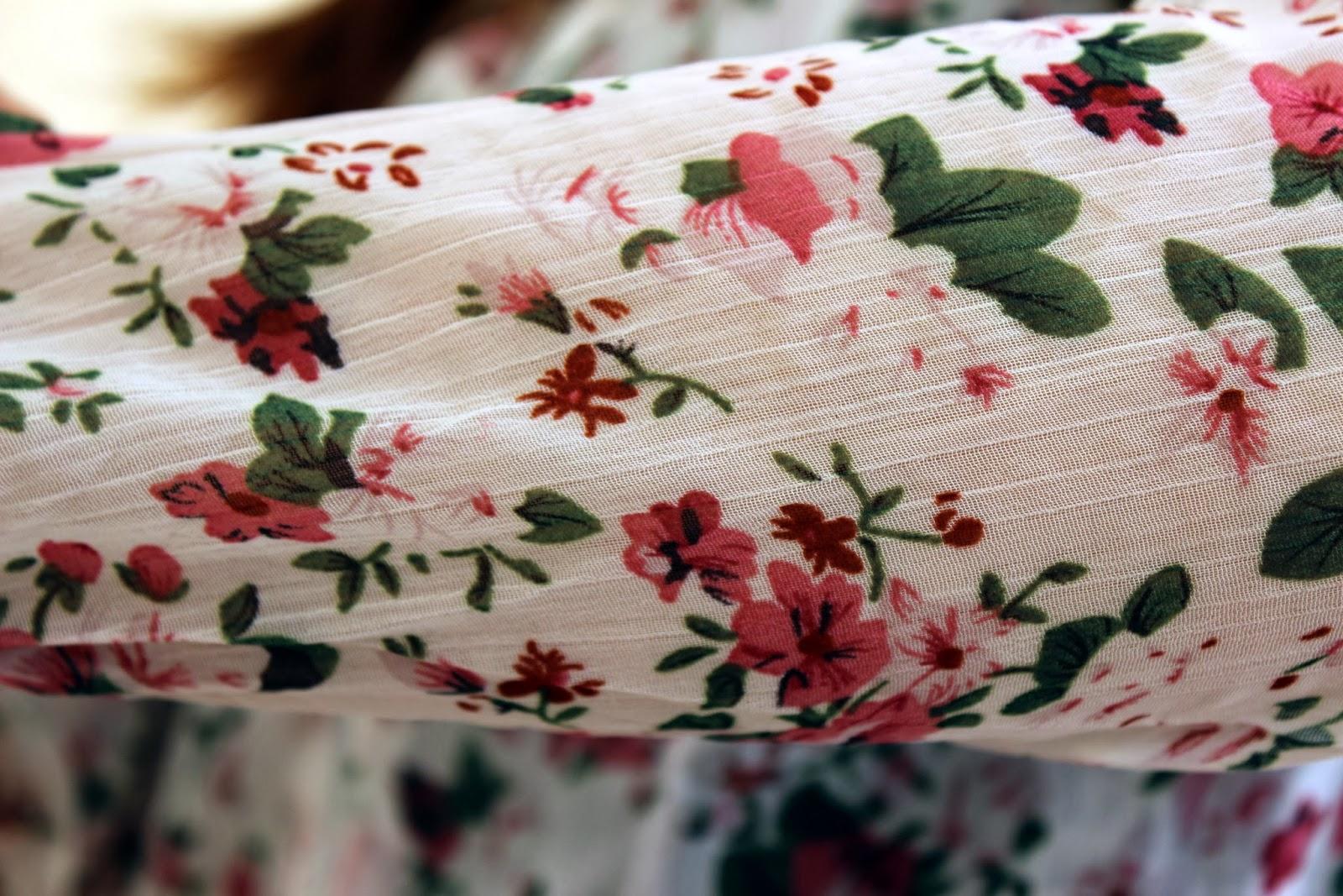 Dresslily Floral Jacket