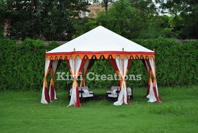 Artistic Garden Tent