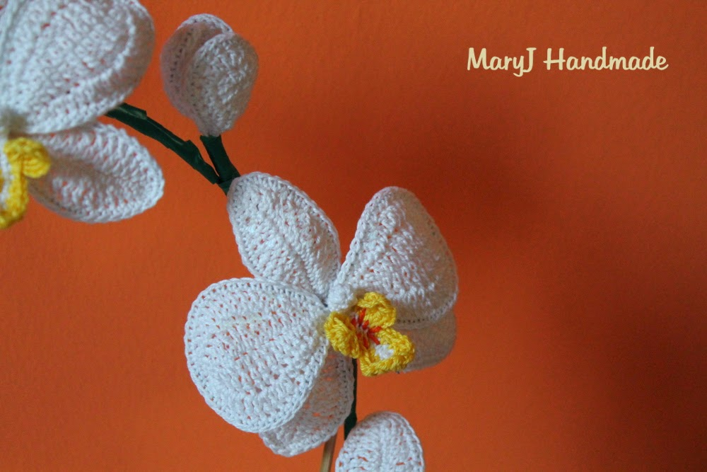 MaryJ Handmade: Orchidea alluncinetto How to crochet an ...