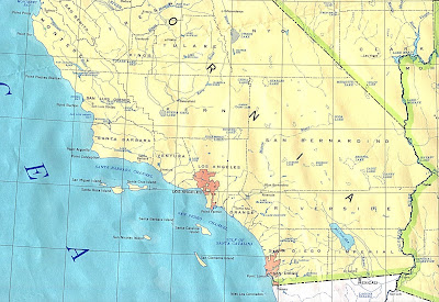 Map of Southern California 1