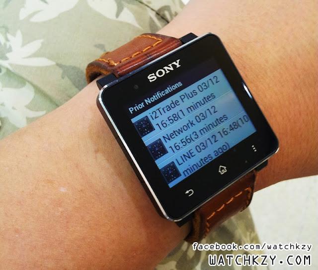 Sony SmartWatch 2 ภาษาไทย
