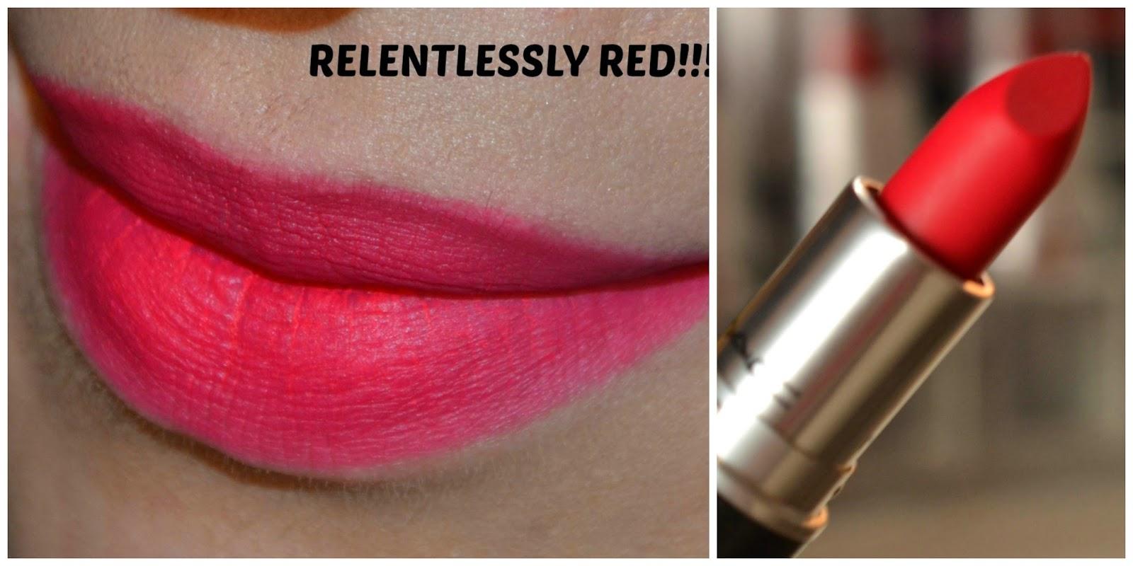 Retro matte  Relentlessly Red