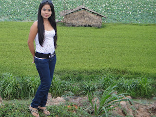 Hor Raksakosal Khmer Cute Girl With Nature Photo 3