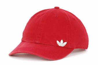 Adidas Trendy Red Baseball Cap
