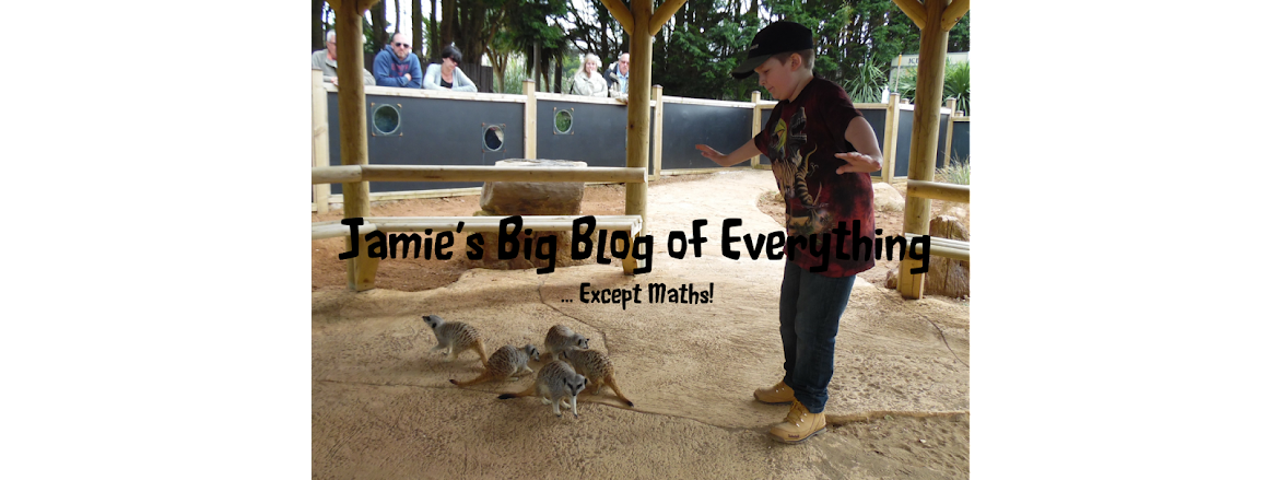 Jamie's Big Blog of Everything (except maths!)