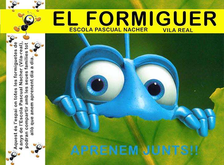 EL FORMIGUER DE PASCUAL NACHER (INFANTIL 4 ANYS)