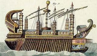 Συρακουσία: Το μεγαλειώδες πλοίο του Αρχιμήδη